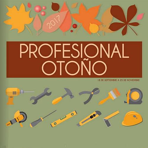 OFERTA PROFESIONAL OTOÑO hasta 25 de noviembre de 2017